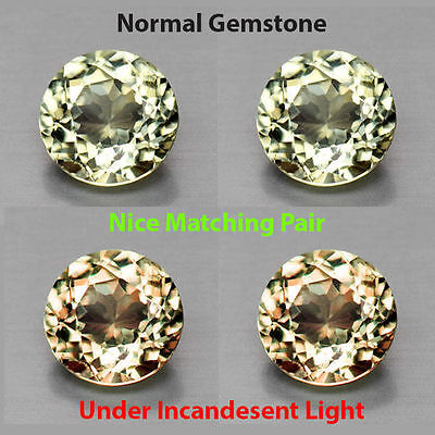 0.60Cts EXQUITISE Gem - Extremely Best Grade Natural Color Change DIASPORE QK051