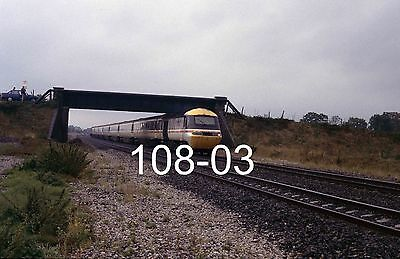 Original 35mm colour slide of HST at Charlton with a Liverpool train (108-03)