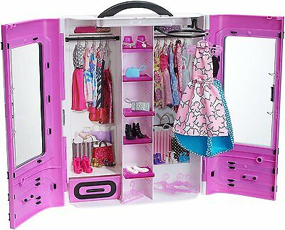 Barbie Fashionistas Ultimate Closet Purple Gift Classic Toys Doll New