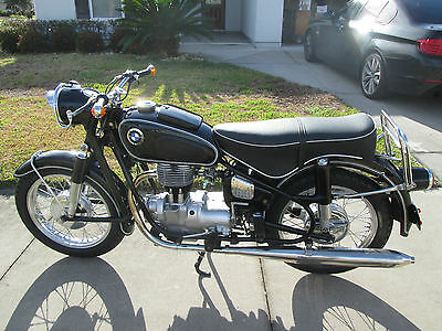 1963 BMW R-Series  1963 BMW R 27 2 owners since new only 7 k miles Restored to concourse condition