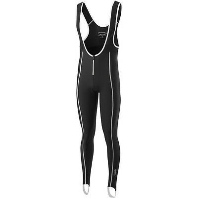 Madison Shield Thermo Men's Bib Tights, Without Pad - Black