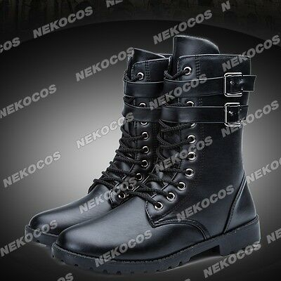 Final Fantasy XV Noctis Lucis Caelum Cosplay Shoes Boots Customized
