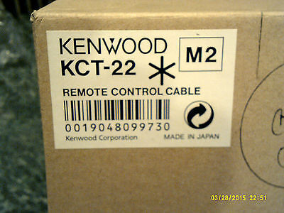 Kenwood KMC 22 M2 control cable