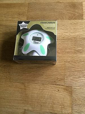 Tommee Tipper Closer To Nature Digital Bath And Room Thermometer Bnip