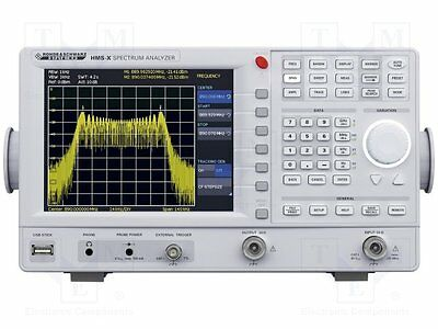 "1 pc Spectrum analyzer; Display 1:LCD 6,5"" (640x480), color; 3.6kg"