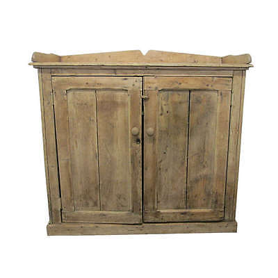 19th Century French Antique Pine Cabinet