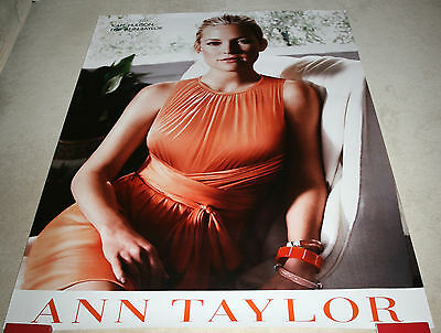Kate Hudson - Werbeposter / promotional poster for Ann Taylor (164x119,5cm) XXL