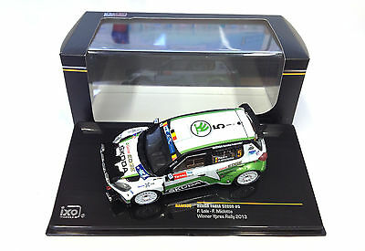Sköda Fabia S2000 Ypres 2013 IXO 1:43 RALLY DIECAST CAR MODEL RAM536