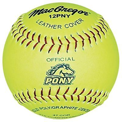 MacGregor Pony Approved 12 Inch Softball