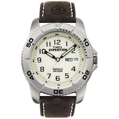 Timex 379110 Timex Expedition Anal Leather