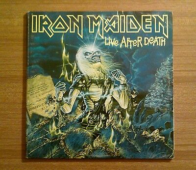 "Iron Maiden (Uk) ""Live after death"" Double Lp 1985."
