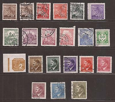 Bohemia And Moravia -  Lote De  Sellos  ( Lot Of Stamps )