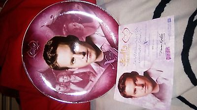 Buffy the vampire slayer plate Xander limited edition low number