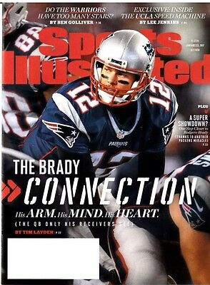 Sports Illustrated Tom Brady Connection New England Patriots January 23 2017