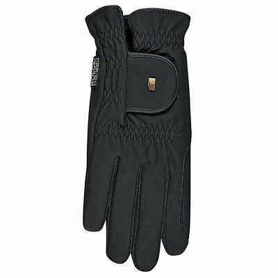 Roeckl Chester Grip Riding Gloves in Black Size: 6 ***SALE***