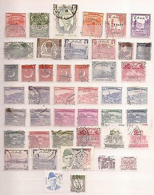 Pakistan -  Lote De  Sellos  ( Lot Of Stamps )