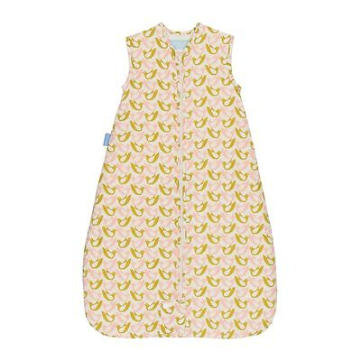 Birds Travel Grobag by Orla Kiely & Gro Company Baby Sleeping Bag, 1.0 Tog 6-18m