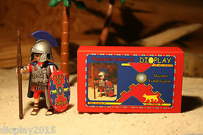 "Playmobil® Custom ""Decurio der Garde"" in Präsentbox / Römer EBR364"