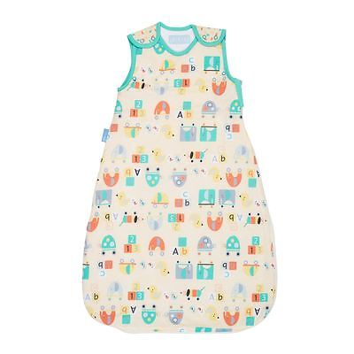 Wheely Fun Grobag by The Gro Company Baby Cotton Sleeping Bag Sack 1.0 Tog 6-18m