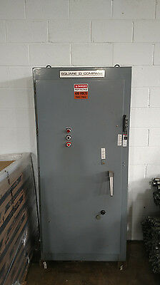 Square D 480V 3PH 100HP Nema size 4 Reduced Voltage AutoTransformer Starter