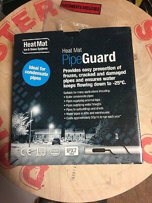 Pipe Guard by Heatmat prevents frozen pipes 4metres  53 watts - HMACCFRO0053