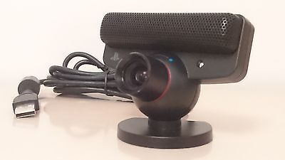 SONY PLAYSTATION 3 Move Camera/Mic Eye Eyetoy USB for PS3 Video Chat Call Webcam