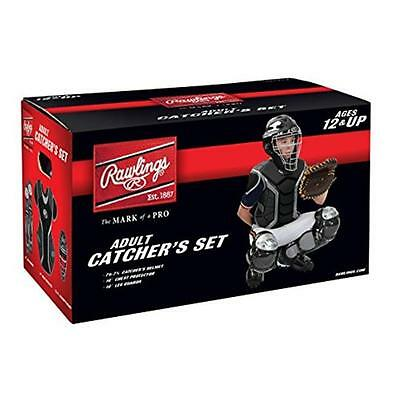 Rawlings RCS69-B-SIL CoolFlo Catcher Set 6 To 9 Black & Silver