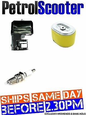 Spark Plug Air Filter   BOX Honda GX140 GX160 GX200 Engine LawnMower Generator