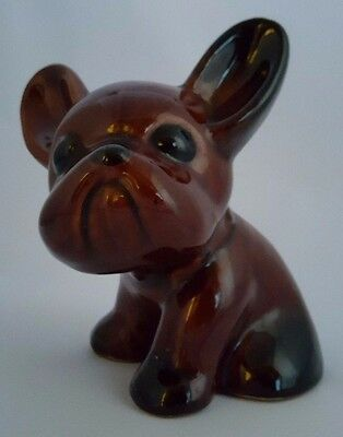 1930's Bourne Denby Danesby Ware BYNGO Art Deco Excellent Cond. French Bulldog.