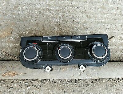 Vw Volkswagon Golf Mk6 A/c Heater Controls Climate Control Switch / Buttons