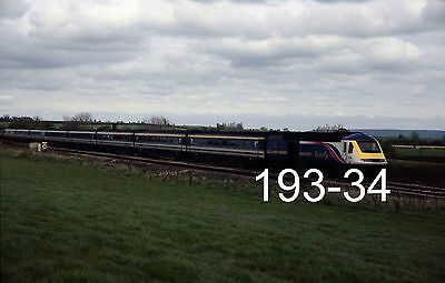 Original 35mm colour slide of HST at Cogload Jcn with a Penzance train (193-34)