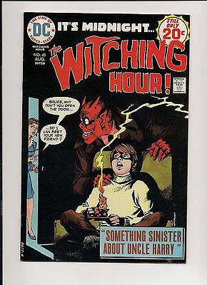 The Witching Hour #45 VF/NM High Grade, DC Bronze Age Horror