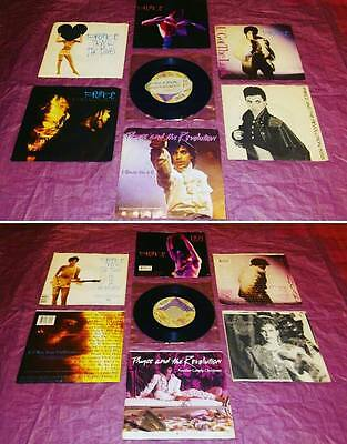 """Prince 7 X 45 Rpm 7"""" Like New Unplayed Rare And Unique Item"""