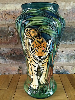 """Magnificent Moorcroft 10"""" Ranthambore Baluster Vase by Sian Leeper"""