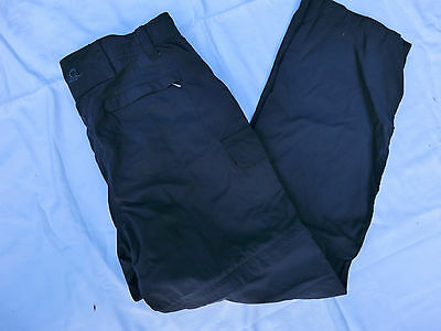 NOMAD, dunkelgraue 2 in 1 Outdoorhose, Funktionshose in Gr. 38 / M