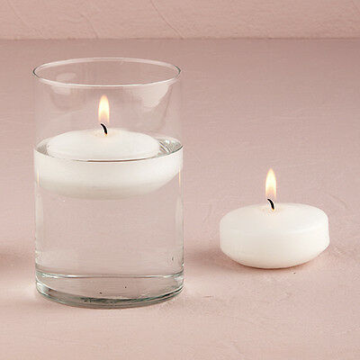 White Floating Candles Wedding Decoration Package of 20 Weddingstar
