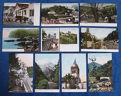 10 B.P. Registrado Madeira Colour Postcards