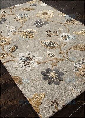 Jaipur Rugs 5 x 8 Garden Party Blue Persian Style Woolen RUGS EDH