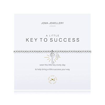 Joma Jewellery a little Key To Success bracelet