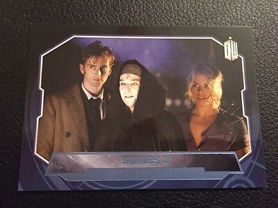Topps 2015 Doctor Who Series 2, 196/199 Blue Parallel Base Card 194