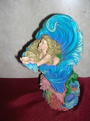 Danbury Mint 'Underwater Goddess' Quest For The Crystal Series