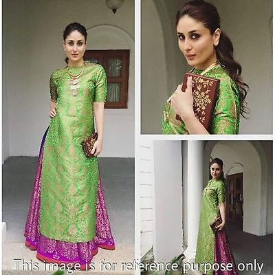 Indian Bollywood Designer Dress Suit Punjabi Patiala Salwar Kameez Ethnic Party.