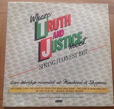 Spring Harvest 1987 - Where Truth And Justice Meet LP