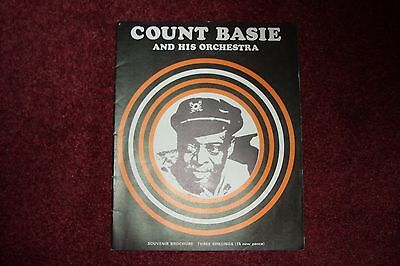 Count Basie And His Orchestra Souvenir Brochure