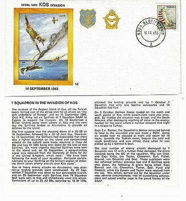 South Africa 1983 -  Limited Edition Flight Cover with Insert (September 1983)
