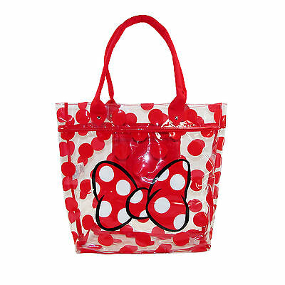 New Disney Minnie Mouse Clear Tote Bag