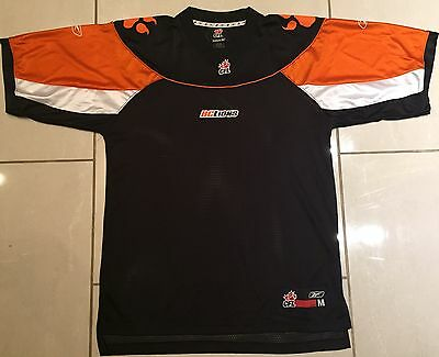 NEW Reebok BC Lions Medium CFL Jersey