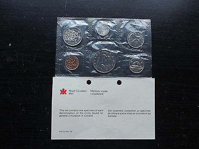 Canadian 1978 Uncirculated Proof Like  6 Coin Set=