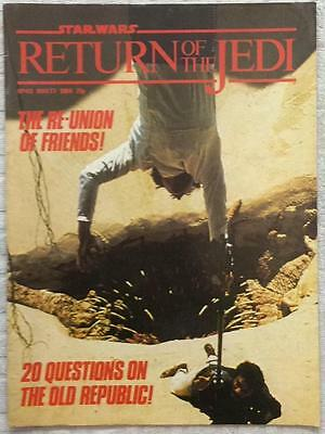 Return of The Jedi #49 (1984 Marvel UK) Good condition for age. Bagged & boarded