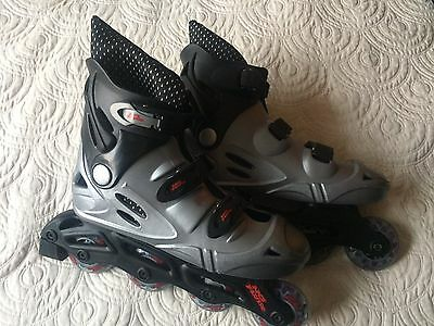 Used great condition No Fear Inline skates / rollerblades size 6